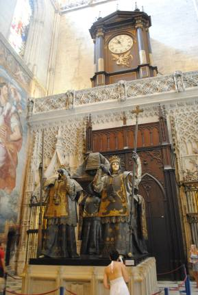 Christopher Columbus' apparent tomb